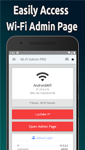 Router Admin Page - Wifi Setup Page~Password Show 4.1