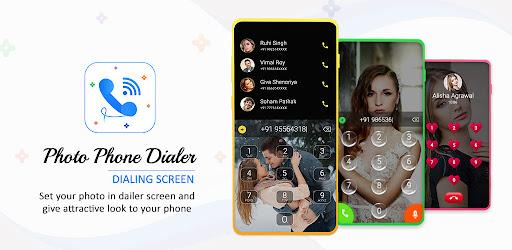 Photo Phone Dialer - Photo Caller ID, 3D Caller ID Versi 1.0
