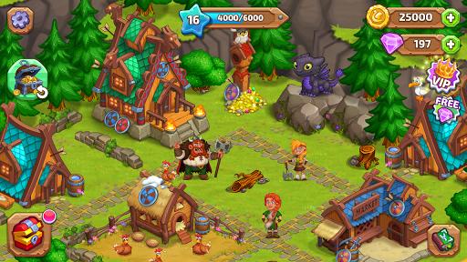 North Dragon Island - build Vikings Farm  screenshots 10