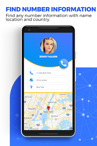 Caller ID Name Locator & Tracker, Spam blocking apktram screenshots 1
