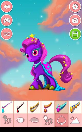 Unicorn & Pony Dress up Games 4.0 screenshots 13