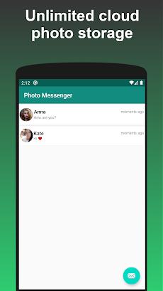 Photo Messenger - send 4K photo in high resolutionのおすすめ画像3