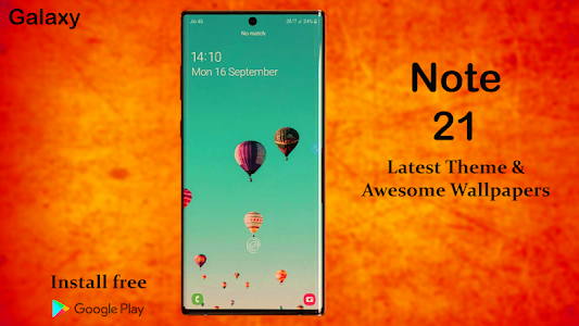 Samsung Note 21 Launcher 2020: Themes & Wallpapers 1.6