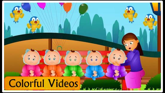 Kids Top Nursery Rhymes Videos - Offline Learning FiveLittle_v7.1 Screenshots 7