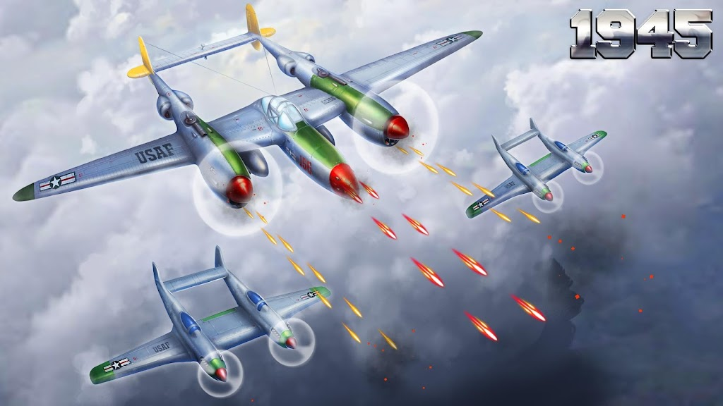 1945 Air Force: Airplane Shooting Games - Free  poster 3