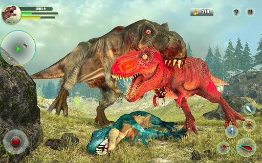 Dinosaur Games Simulator Dino Attack 3D apkmartins screenshots 1