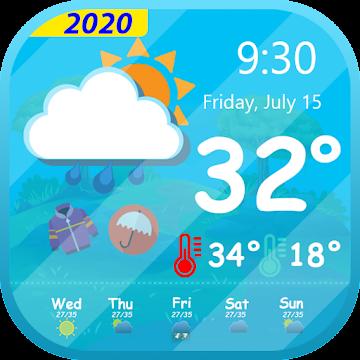 Captura 1 de Tiempo en vivo - Pronóstico del tiempo 2020 para android