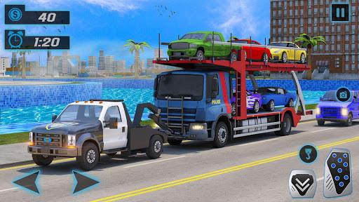 Police Tow Truck Driving Simulator 1.3 screenshots 9