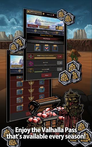 Titan Slayer: Roguelike Strategy Card Game apktram screenshots 4