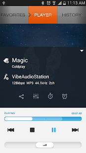 XiiaLive™ - Internet Radio Screenshot