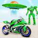 宇宙船ロボット バイク ゲーム 2021