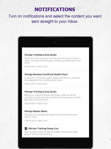 Minnesota Vikings Mobile android2mod screenshots 22