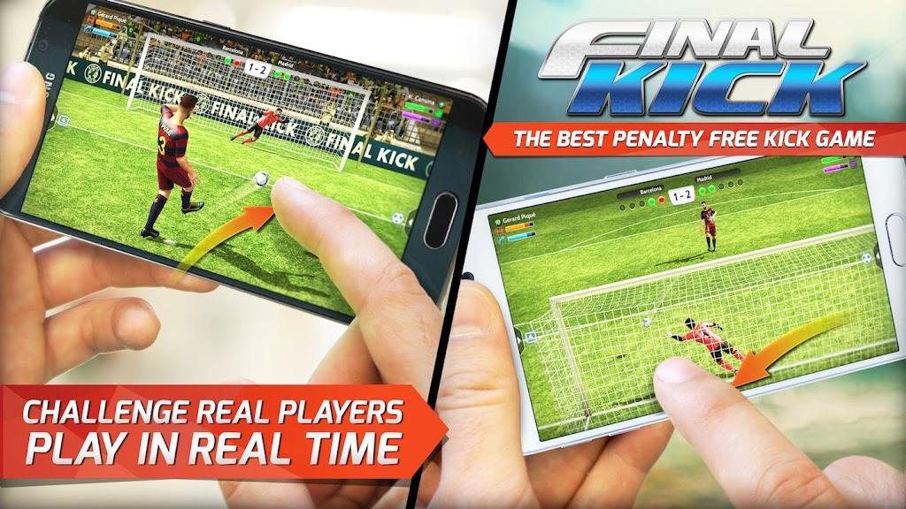 Final kick 2020 Best Online football penalty game  poster 2