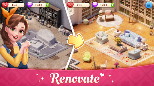 My Story - Mansion Makeover apktreat screenshots 1