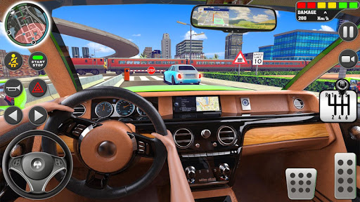 City Driving School Simulator: 3D Car Parking 2019 apkpoly screenshots 9