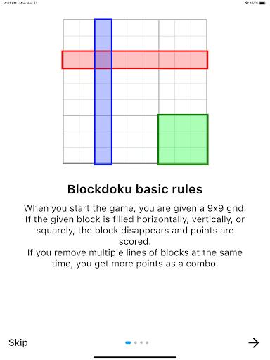 Blockdoku - Combination of Sudoku and Block Puzzle screenshots 17