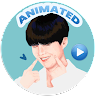 Animated BTS Stickers for WAStickerApps app apk icon