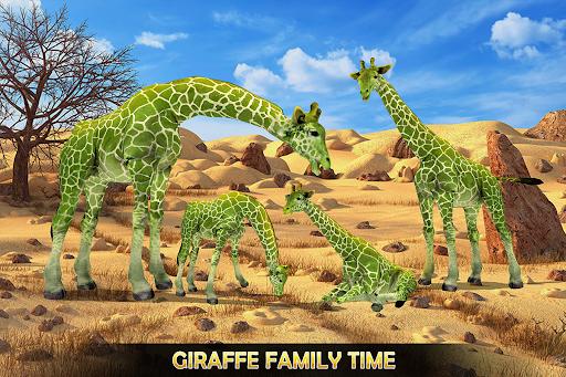Giraffe Family Life Jungle Simulator apktram screenshots 11