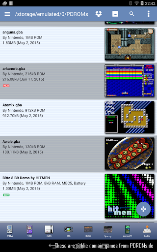 VGBAnext - Universal Console Emulator apkdebit screenshots 14
