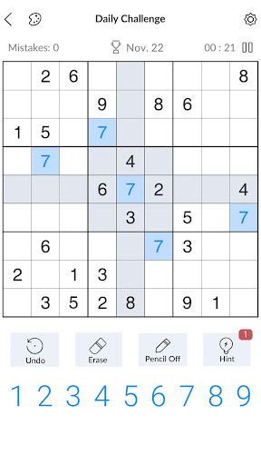 Sudoku - Free Classic Sudoku Puzzles 3.9.0 screenshots 1