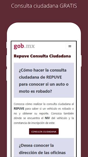 La aplicaciu00f3n de REPUVE mas rapida de Mu00e9xico 1.0.3 Screenshots 3