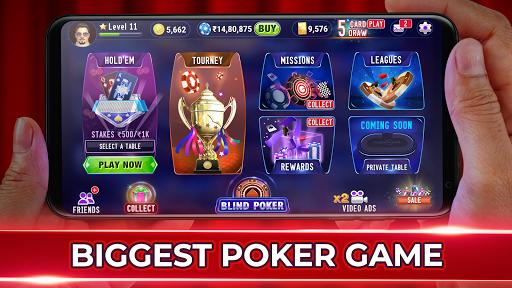 Poker Live! 3D Texas Hold'em 1.9.1 screenshots 2