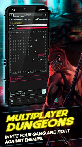 CyberCode Online | Cyberpunk Text Idle MMORPG 1.0 screenshots 3