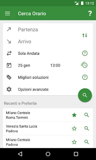 Train Timetable Italy  Screenshots 1