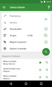 Train Timetable Italy  For Pc | How To Install (Download Windows 10, 8, 7) 1