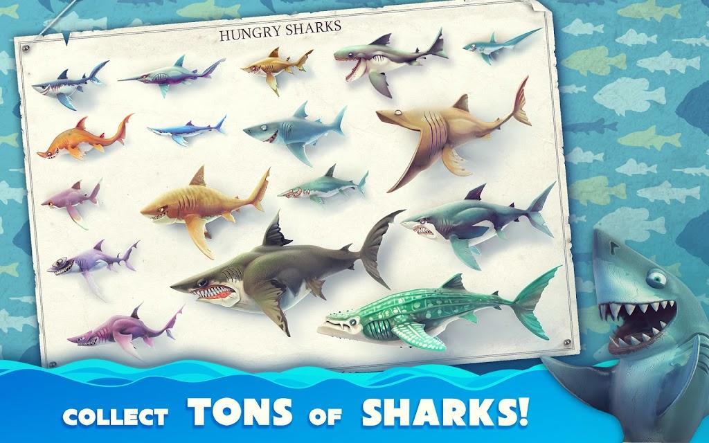 Hungry Shark World poster 11
