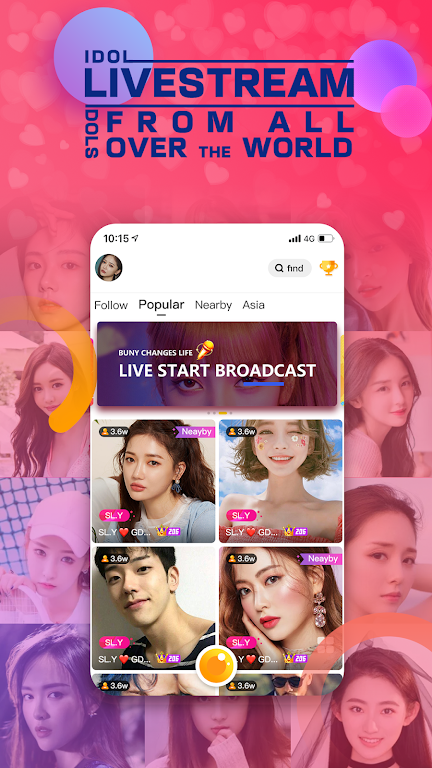 Bunny Live - Live Stream & Video chat poster 3