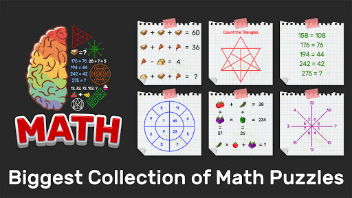 Brain Math: Puzzle Games, Riddles & Math games 2.5 screenshots 1