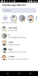 Fake Bts Messenger 13 Mod + APK + Data UPDATED 1