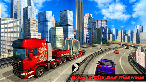 Speedy Truck Driver Simulator: Off Road Transport screenshots 17