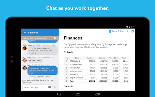 Quip: Docs, Chat, Spreadsheets Screenshot