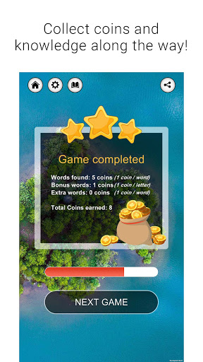 Wordalicious - Relaxing word puzzle game 1.8.1 screenshots 4