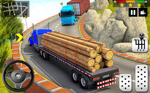 Cargo Delivery Truck Parking Simulator Games 2020 android2mod screenshots 4