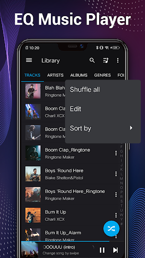 Music Player - Audio Player & 10 Bands Equalizer 1.8.1 Screenshots 2