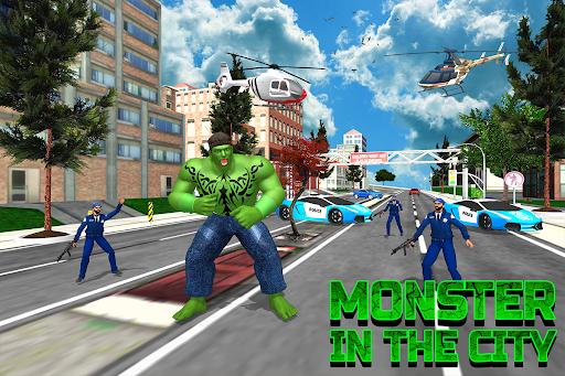 Incredible City Monster Hero Survival 3.3 screenshots 9