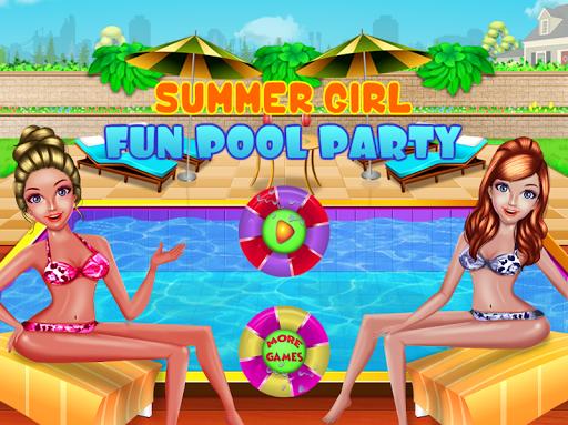 Summer Girl - Fun Pool Party  screenshots 8