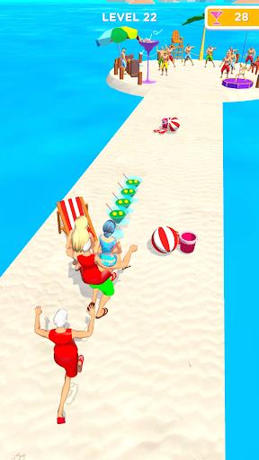 Beach Party Run Apkfinish screenshots 4