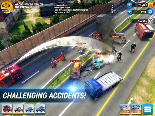 EMERGENCY HQ - free rescue strategy game 1.6.01 Screenshots 9
