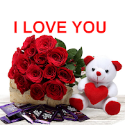 I love you images hd - Love Pictures Whit Flowers