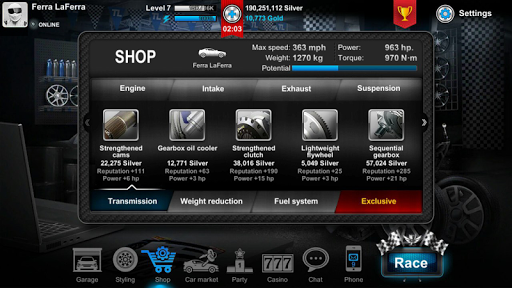 Tuner Life Online Drag Racing  screenshots 12