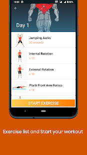 Fitness Trainer - Fitness Home Workout 2.5.4 screenshots 4