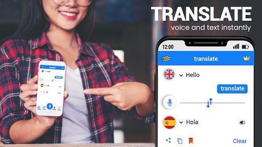 Translator App Free - Speak and Translate 4.0.3 screenshots 1