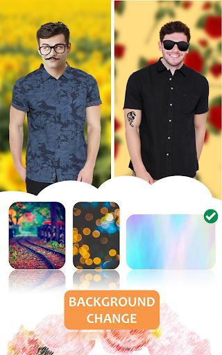 Man Shirt Photo Suit Editor android2mod screenshots 2