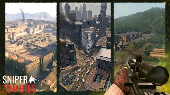 Sniper Zombies: Offline Shooting Games 3D Unlimited Money