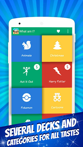 What Am I? – Family Charades (Guess The Word) 1.6.00 screenshots 1