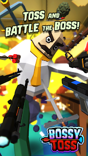 Bossy Toss Mod Apk 1.1.1 (A Lot of Currency) 1
